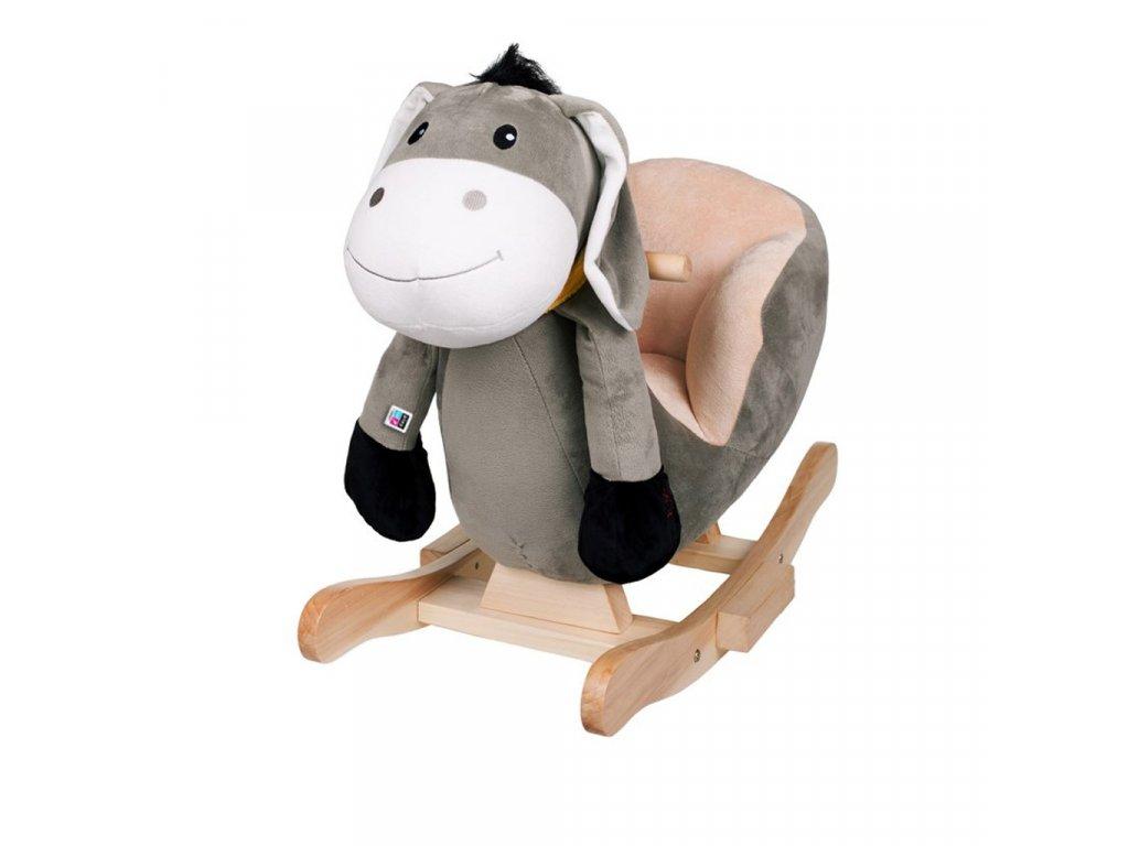 Dětská houpací hračka s melodií PlayTo oslík