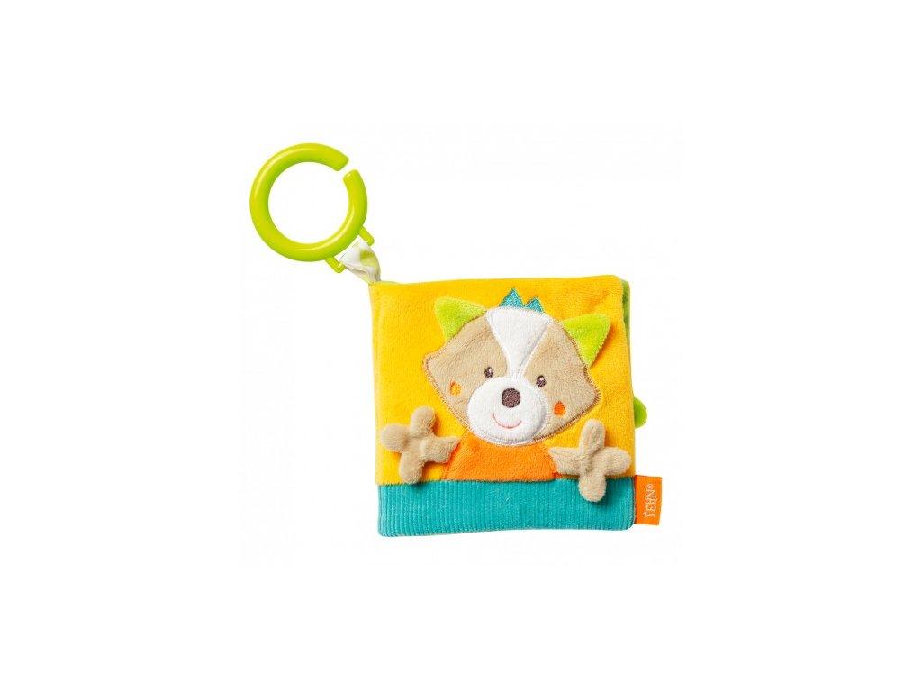 Dětská hračka na kočárek Fehn Forest knížka liška