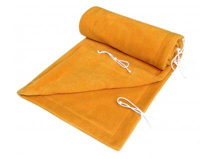 detska deka emitex fleece 70 100 cm horcicova