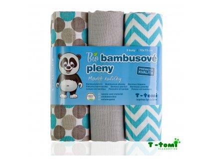 detske pleny t tomi modre kulicky bambusove