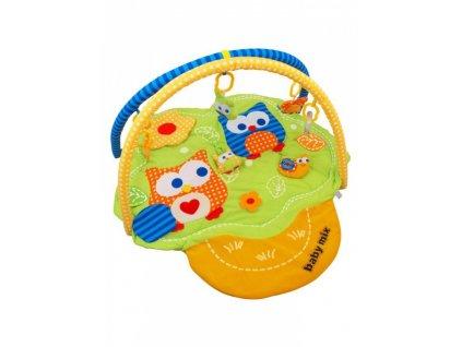 detska hraci deka baby mix sovicky