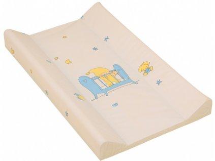 detska prebalovaci podlozka tvrda scarlett bezova 70 x 50 cm