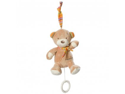 detska hracka na kocarek baby fehn rainbow mini medvidek