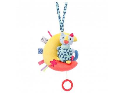 detska hracka na kocarek baby fehn color friends hraci kocka na mesici