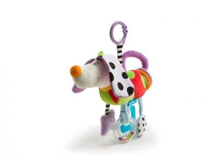detska hracka na kocarek taf toys usaty pejsek