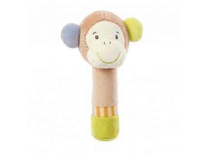 detska plysova hracka baby fehn monkey donkey opicka piskaci
