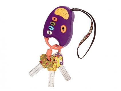 detska edukacni hracka b toys klicky od auta funkeys