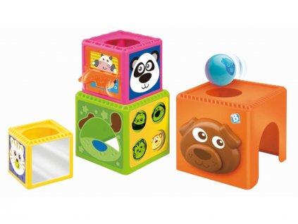detska edukacni hracka b kids skladaci kostky busy baby stackers