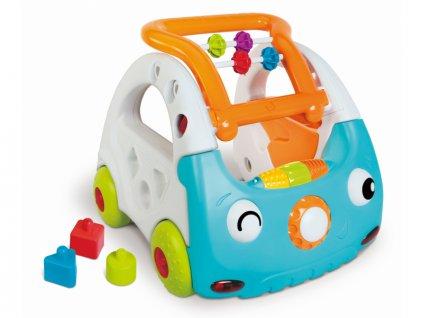 detska edukacni hracka b kids senzoricke choditko auto 3 v 1 discovery car