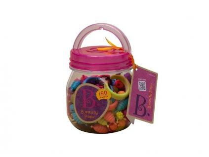 detska edukacni hracka b toys spojovaci korale a tvary pop arty 150 kusu