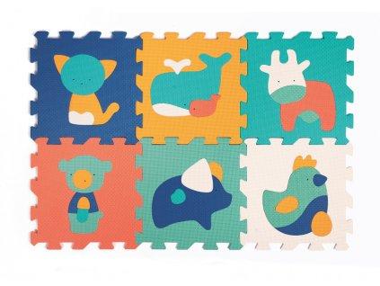detske penove puzzle ludi 90 x 90 cm