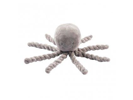 detska prvni hracka chobotnicka nattou piu piu lapidou coppergreen mint