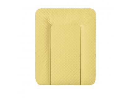 detska prebalovaci podlozka na komodu mekka ceba caro 50 x 70 cm mustard