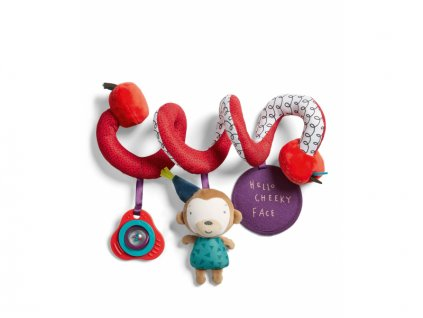 detska hracka na postylku mamas papas spirala opicka