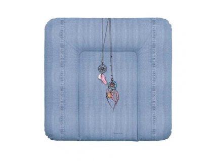 detska prebalovaci podlozka na komodu mekka ceba denim style 75 x 72 cm dream catcher
