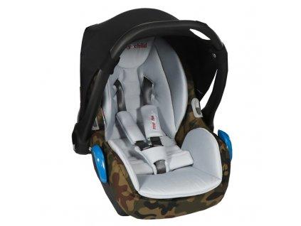 detska autosedacka babyschild 0 13 kg fashion pro army