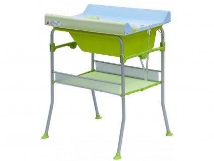 detsky prebalovaci pult s vanickou scarlett florida zelena