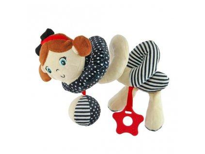 detska hracka na postylku baby mix spirala namornik holka