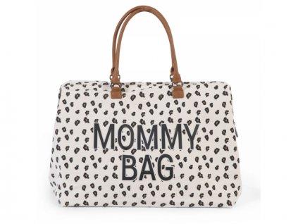 prebalovaci taska childhome mommy bag canvas leopard