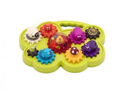 detska edukacni hracka b toys hudebni pult se zviratky