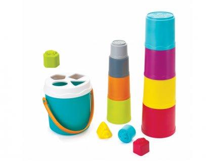 detska edukacni hracka b kids stohovaci kelimky v kybliku