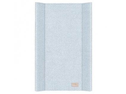 detska prebalovaci podlozka tvrda ceba pastel collection english rib 50 x 80 cm modra