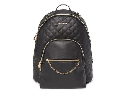 taska batoh na kocarek skip hop linx quilted backpack black