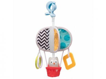 detska hracka na kocarek taf toys kolotoc sova obi