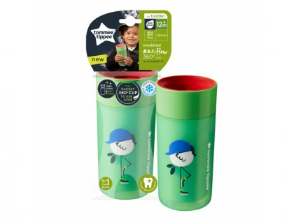 detsky termohrnek tommee tippee easiflow 360 250 ml zelena 4