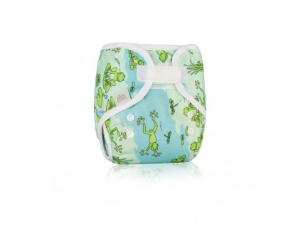 detske svrchni kalhotky ellas house bump wrap froggy velikost s