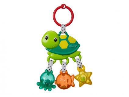 detska hracka na kocarek infantino chrastitko morska zelva