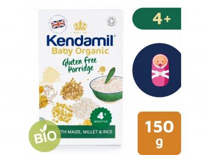 bio organicka detska bezlepkova kase kendamil 150 g 2