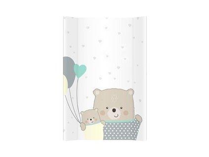 detska prebalovaci podlozka mekka albero mio medvedi s balony 71 x 50 cm