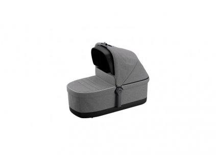 hluboka korba thule sleek bassinet grey melange