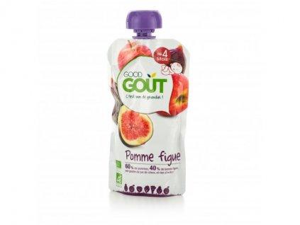 ovocny prikrm od ukonceneho 4 mesice kendamil good gout bio jablko s fiky 120 g