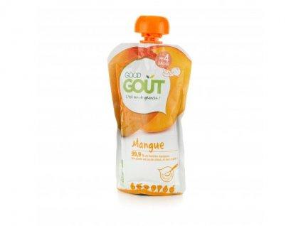 ovocny prikrm od ukonceneho 4 mesice kendamil good gout bio mango 120 g