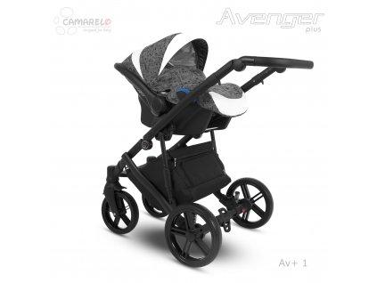 detska autosedacka camarelo kite avenger plus 0 13 kg av 1