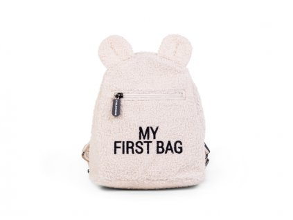 detsky batuzek childhome my first bag teddy off white