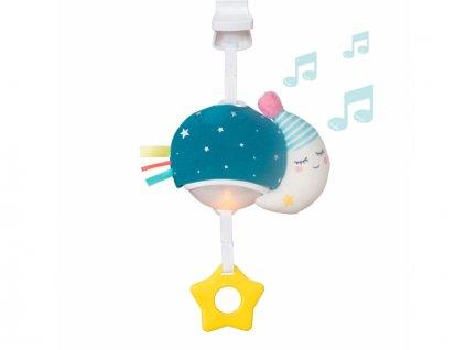 detska hracka na kocarek taf toys hudebni mesicek