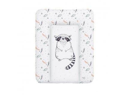 detska prebalovaci podlozka na komodu mekka ceba raccoon 50 x 70 cm