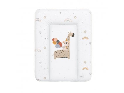 detska prebalovaci podlozka na komodu mekka ceba giraffe 50 x 70 cm