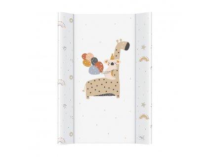 detska prebalovaci podlozka tvrda ceba giraffe 50 x 70 cm