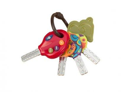 detska edukacni hracka b toys elektronicke klicky od auta luckeys