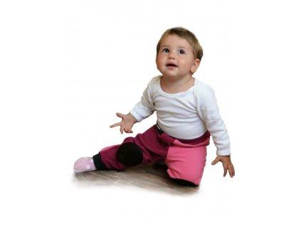 Dětské lezáčky VG růžovo-malinové