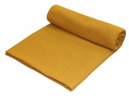 detska zavinovaci deka emitex muselin 120 x 120 cm mango 2