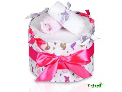 Plenkový dort T-Tomi Lux Šnek-velký