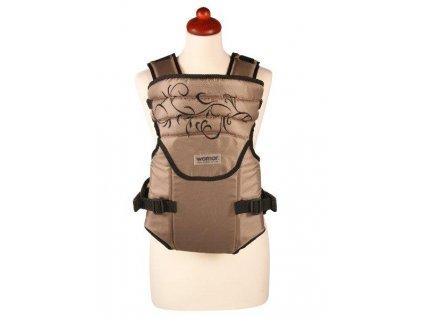 Nosítko Womar Zaffiro Sunny béžové s výšivkou (poškozený obal)