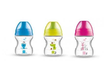 detsky hrnicek mam learn to drink cup 190 ml modry