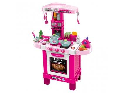 Dětská kuchyňka se zvuky a světly Bayo + příslušenství