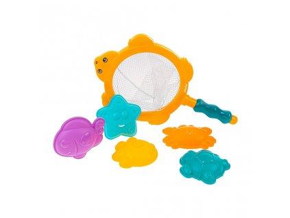 Dětské hračky do vody sítko s hračkami Akuku